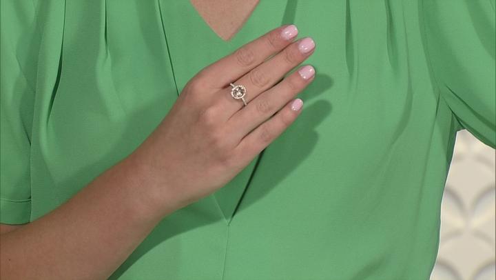 Pink Cor De Rosa™ Morganite 10k Two Tone Ring 1.61ctw