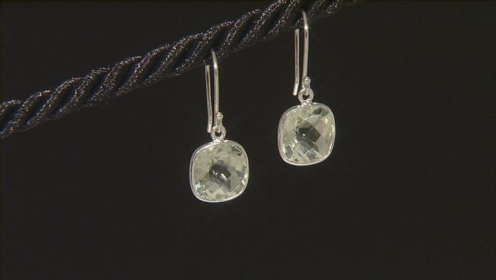 Blue Topaz Silver Set Of 6 Earrings 31.00ctw