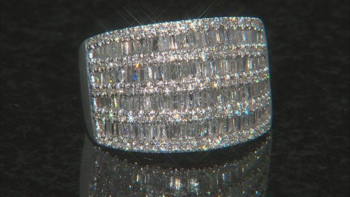 White Diamond 14K White Gold Ring 1.57ctw
