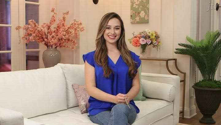 White Diamond 14K Yellow Gold Tennis Bracelet 1.00ctw