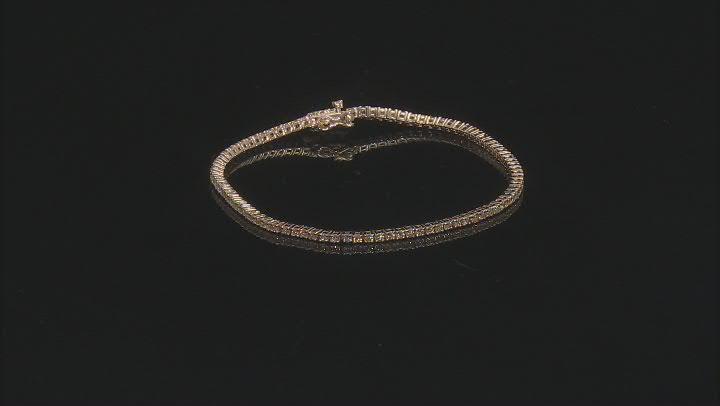 Natural Yellow Diamond 14K Yellow Gold Tennis Bracelet 1.50ctw