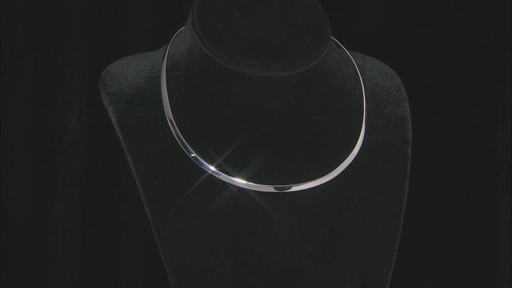 Purple Moroccan Amethyst Enhancer With Silver Collar 6.14ctw