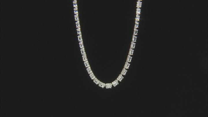 White Brazilian Goshenite Sterling Silver Necklace 4.80ctw