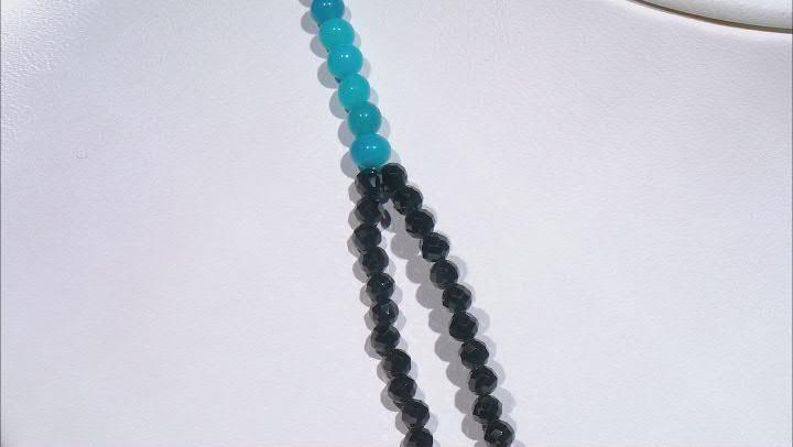 Black Spinel Sterling Silver Necklace