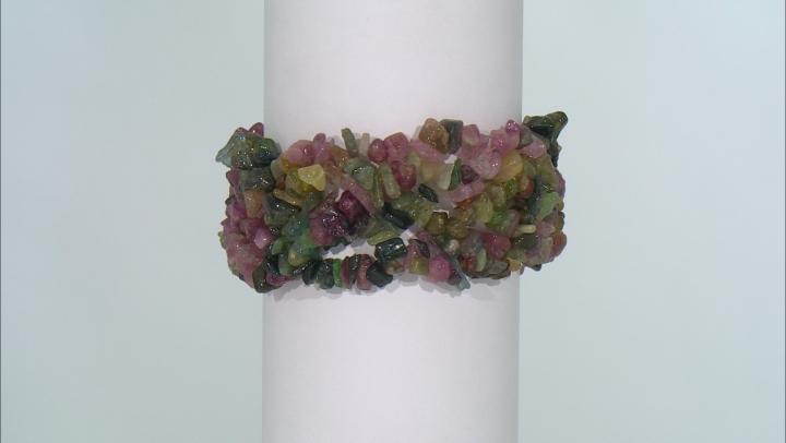 Multi Tourmaline Stretch Bracelet