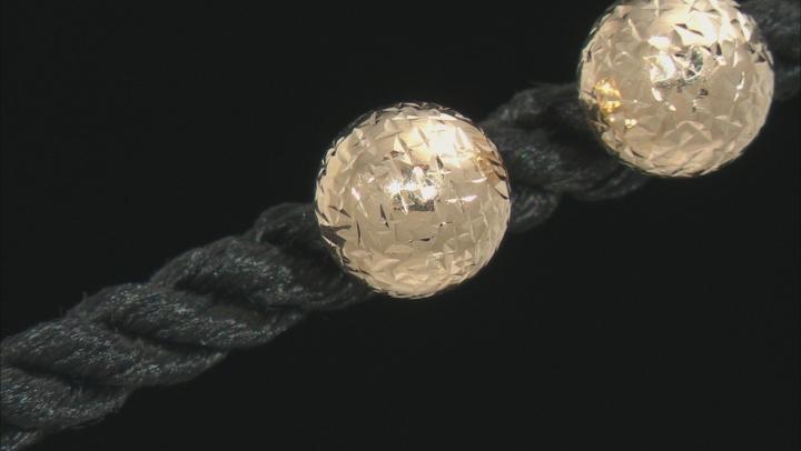 14K Yellow Gold DC Ball Studs