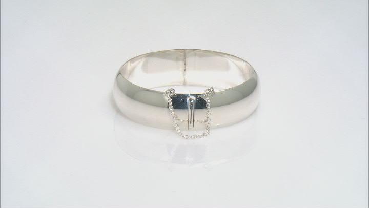 """Sterling Silver 18MM 7"""" Bangle Bracelet"""