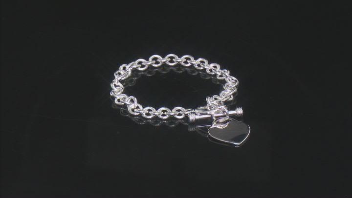 Sterling Silver 7MM Rolo Link Bracelet