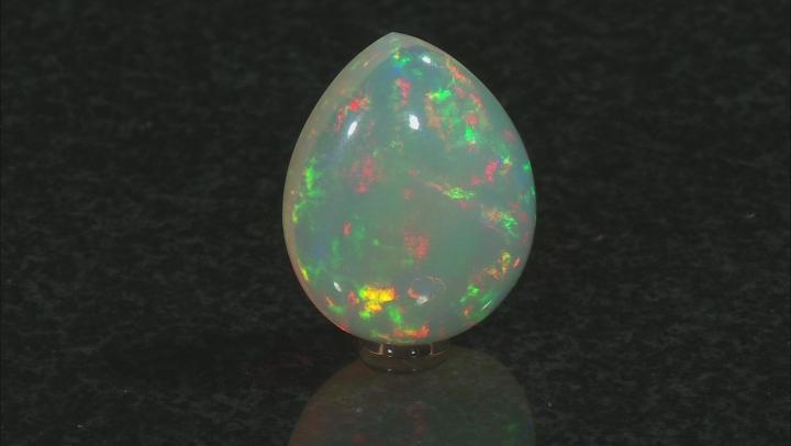 Opal 28.38x23.18x11.24mm Pear Shape Cabochon 33.89ct