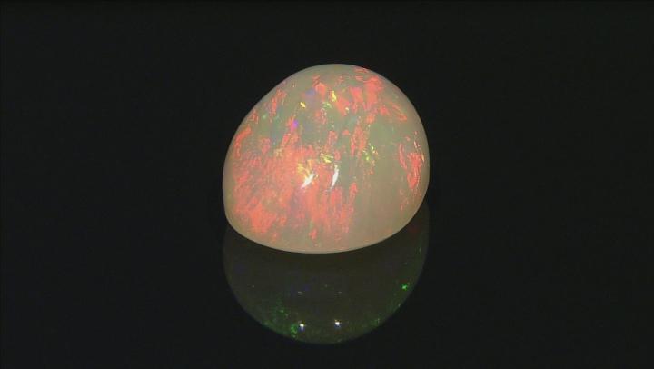 Ethiopian Opal 29.91x21.87mm Oval Cabochon 44.95ct