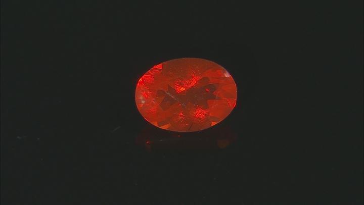 Fire Opal 7x5mm Oval 0.50ct