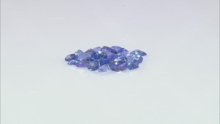 Tanzanite Mixed Shape Parcel 10.00ctw