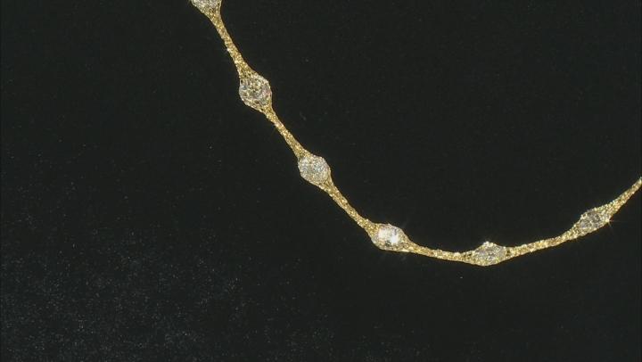 Splendido Oro™ 14K Yellow Gold Bella Luce® Cubic Zirconia Crochet D'Tuscano 18