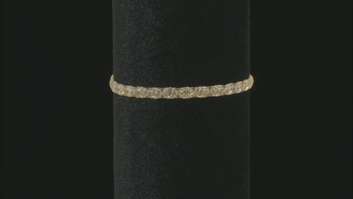 Splendido Oro™ 14K Yellow Gold Bella Luce® Cubic Zirconia Tuscan Crochet 7.5