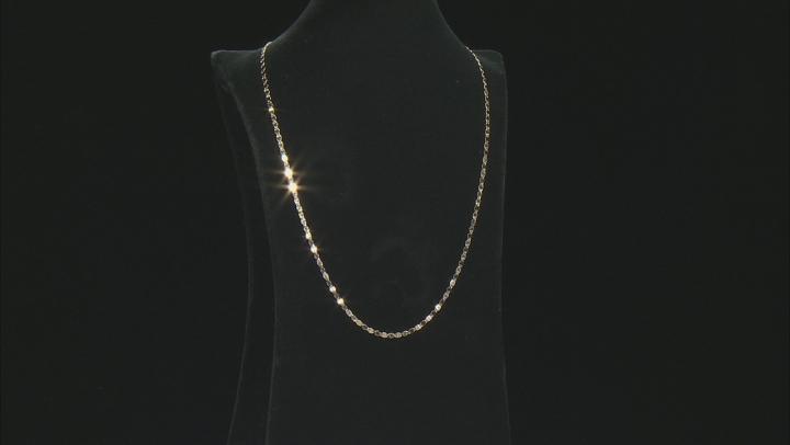 Splendido Oro™ 14K Yellow Gold Mirror Valentino Chain 18 Inch Necklace