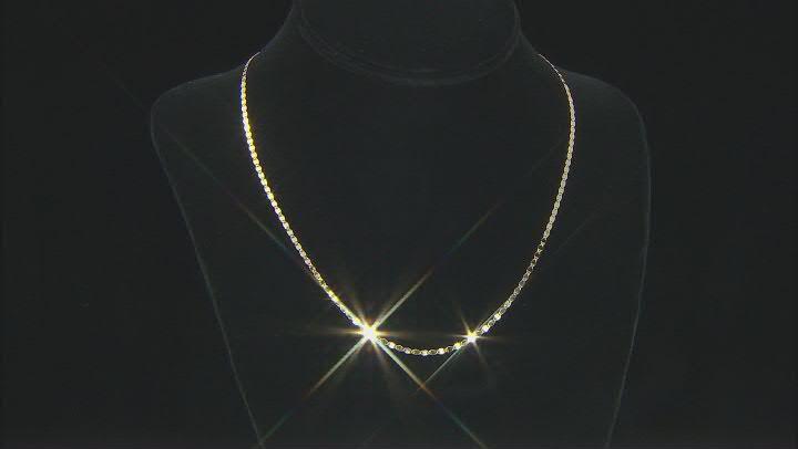 Splendido Oro™ 14K Yellow Gold 2MM Mirror Valentino Chain