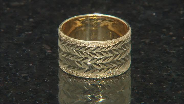 14k Yellow Gold Oro Di Fuoco Ring