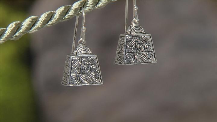 Sterling Silver Bell Earrings