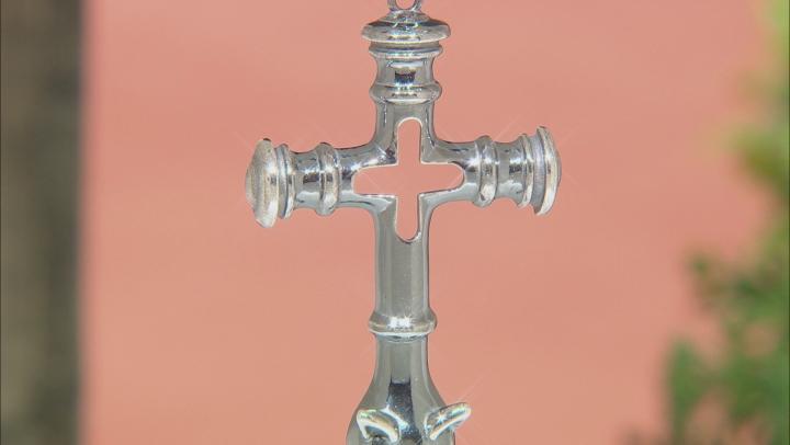 Sterling Silver Viking Cross Pendant