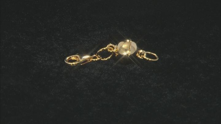 Magnetic Clasp Converter 18 Karat Gold Over Sterling Silver Large 6mm