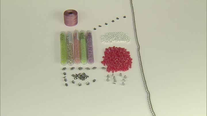 Beading Kit With Findings And Miyuki Beads