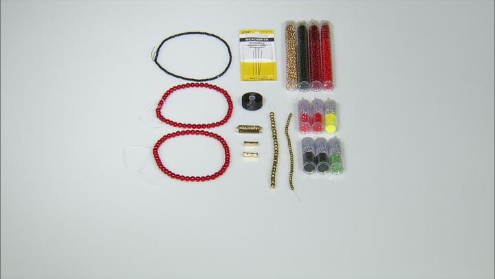 Poinsetta Loom Ornament Supply & Project Kit