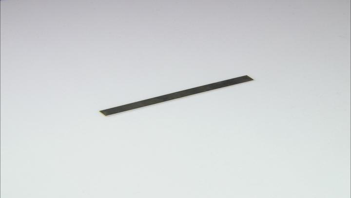 Argentium  Metal Sheet 20 Gauge 1/2x 6 One Piece Total