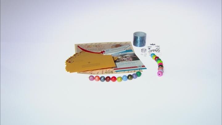 JTV Kids Stretchy Paper Bead Charm Kit