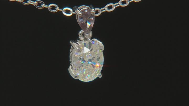 Fabulite Strontium Titanate and Color Change Garnet Pendant 1.75ctw