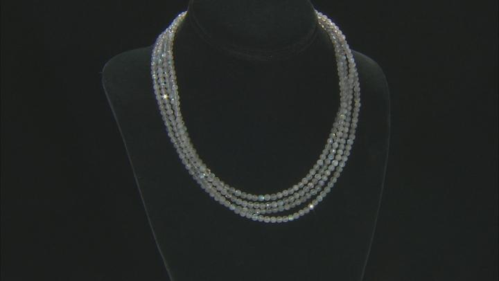 Gray Labradorite Endless Strand Necklace