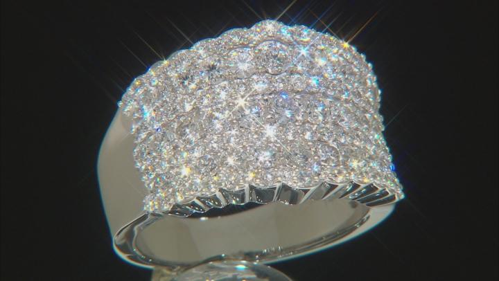 White Lab-Grown Diamond 14K White Gold Ring 2.00ctw