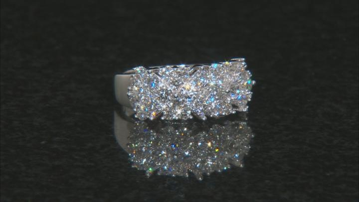 White Lab-Grown Diamond 14K White Gold Ring 1.96ctw