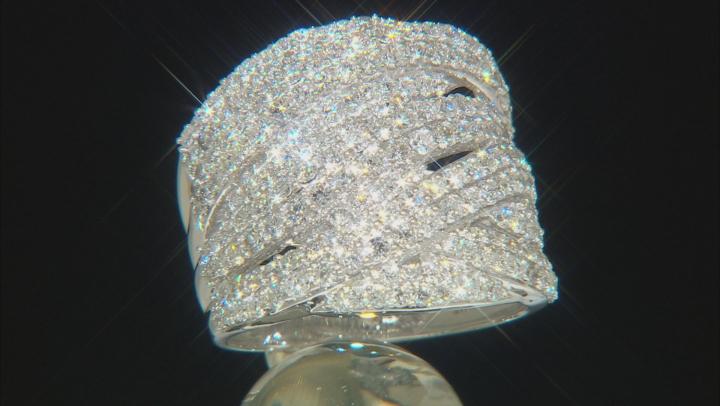 White Lab-Grown Diamond 14K White Gold Ring 2.35ctw