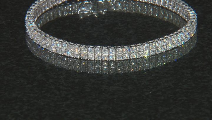 White Lab-Grown Diamond 14K White Gold Bracelet 5.00ctw