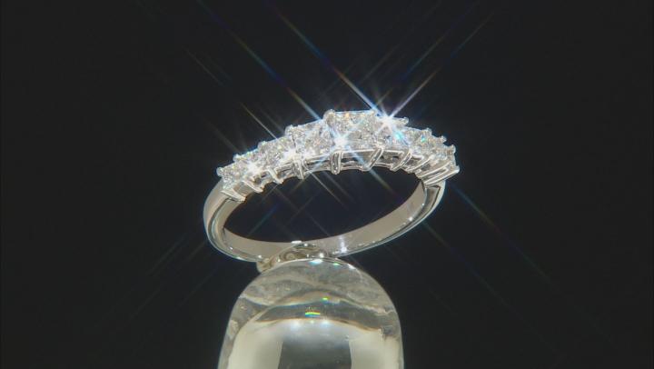 White Lab-Grown Diamond 14K White Gold Ring