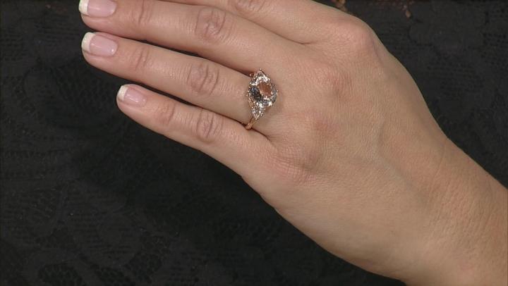 Cor-De-Rosa Morganite ™ 6.58ctw 10k Rose Gold Ring