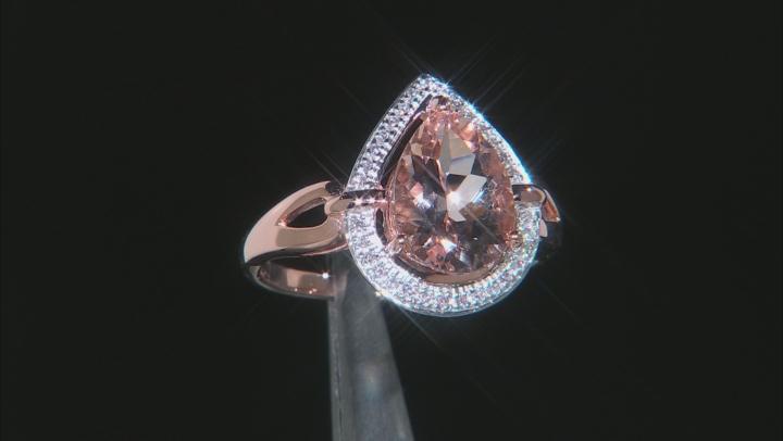 Pink Cor-De-Rosa Morganite ™ 10k Rose Gold Ring 2.56ctw