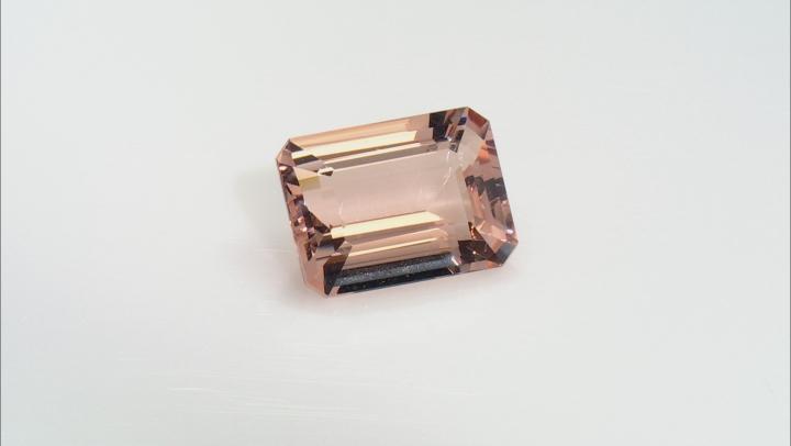 Morganite 20x15mm Emerald Cut 20.40ct