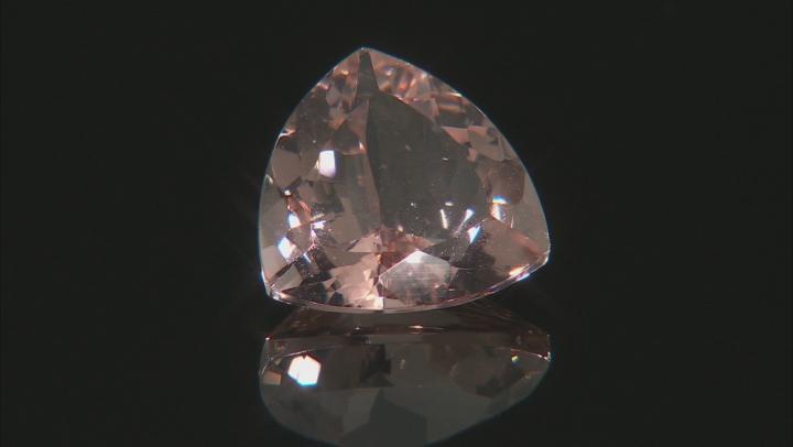 Morganite 14mm Trillion 8.00ct