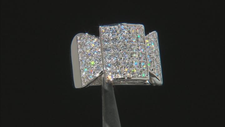 Moissanite Platineve Ring 1.80ctw D.E.W