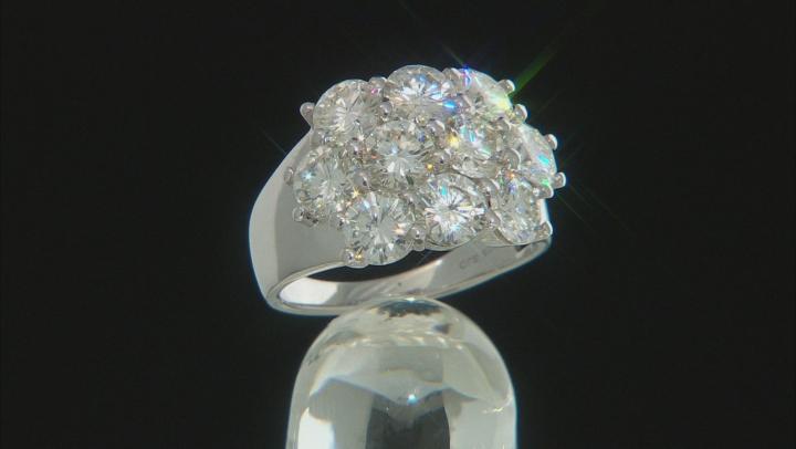 Moissanite Platineve Ring 5.00ctw D.E.W