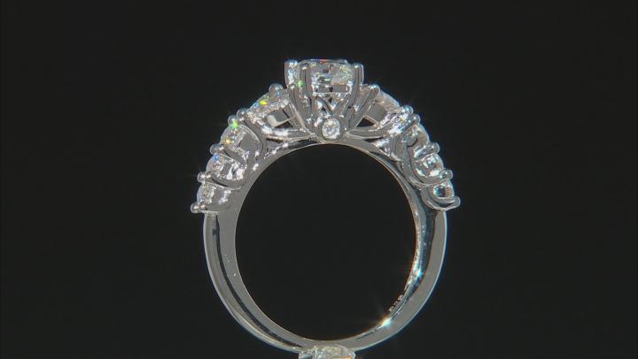 Moissanite Platineve Ring1.94ctw D.E.W