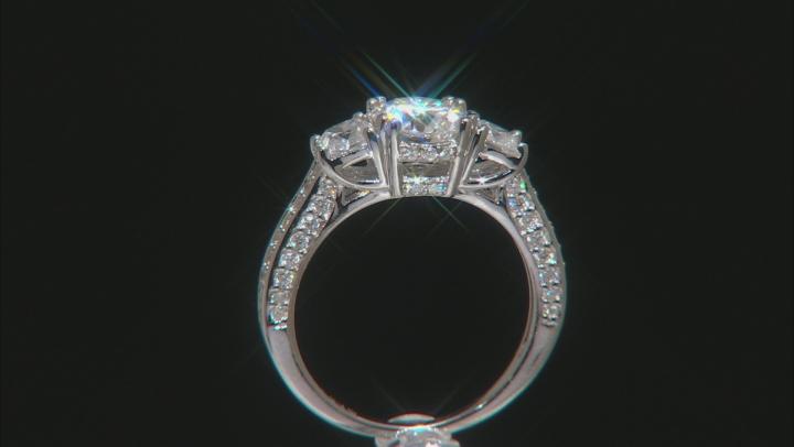 Moissanite Platineve Ring 2.46ctw D.E.W