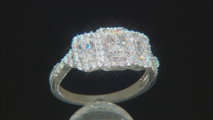 Moissanite Platineve™ Ring 1.88ctw DEW