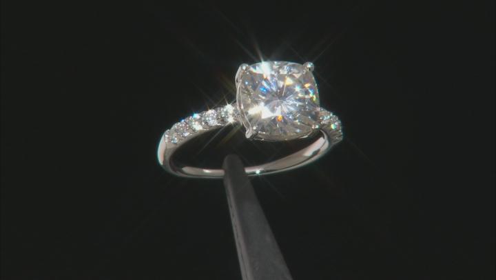 Moisssanite Platineve Ring 4.50ctw DEW.