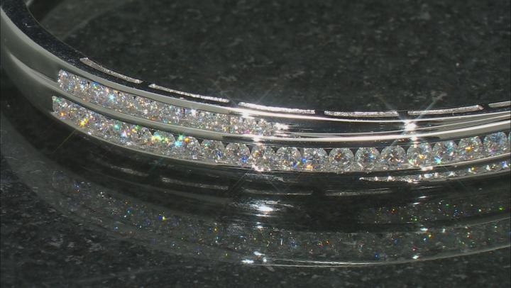Moissanite Platineve Bracelet 2.04ctw D.E.W