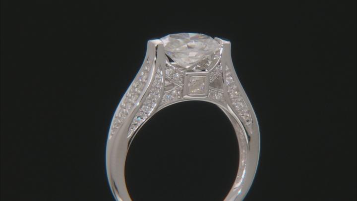 Moissanite Platineve Ring 2.82ctw D.E.W