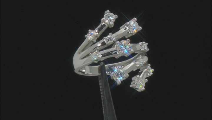 Moissanite Platineve® Ring 1.05ctw DEW