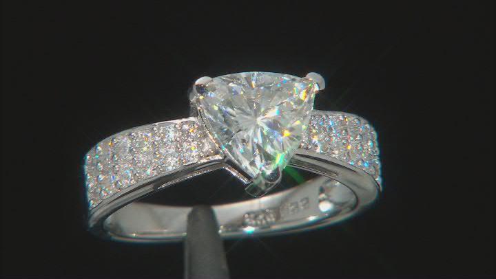 Moissanite Platineve® Ring 2.12ctw DEW