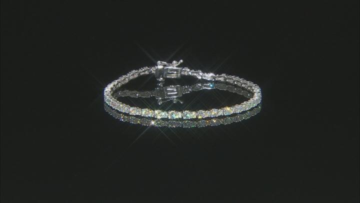 Moissanite Platineve Tennis Bracelet 4.90ctw D.E.W